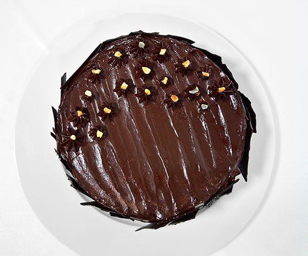 Chocolate Hazelnut Meringue