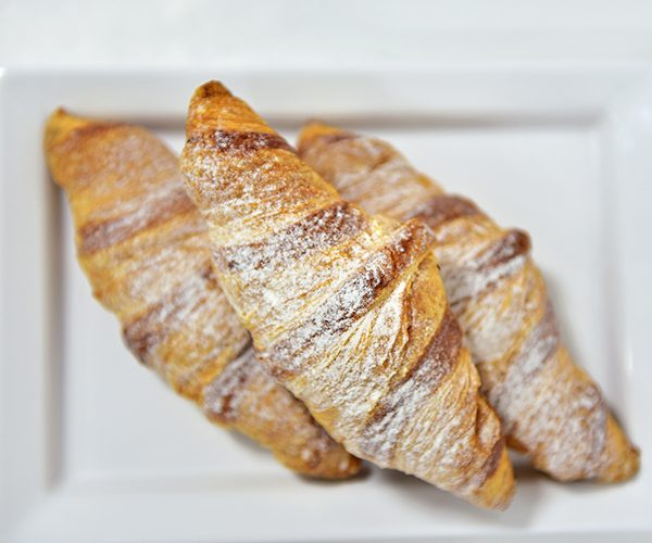 cream croissants
