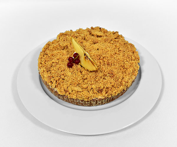 Pear and Dried Fruit Tart